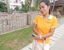 heißer asiat machte gefickt durch ihren chef